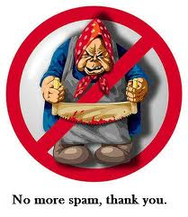 no more spam