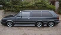 Голф лимузината на Румен Гайтански е превозила много наши манекенки