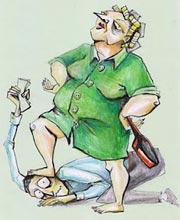 Правилник за държанието и поведението на завряния зет  вкъщи и пред обществото