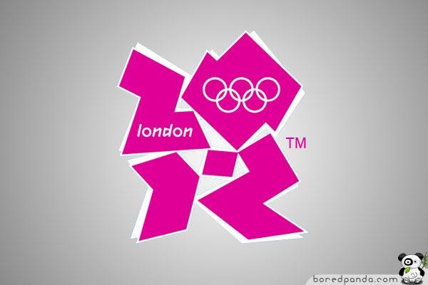 Olympic Logo of London 2012